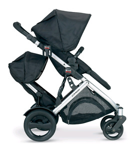 britax  b-ready stroller with second seat