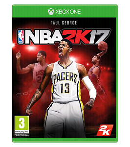 NBA 2k17 xbox one mint condition