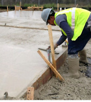 LOOKING FOR A CEMENT FINISHER