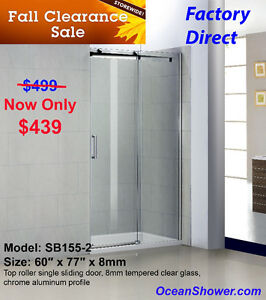 Fall Factory Direct Special Shower Door/Enclosure Sale