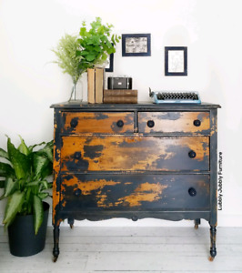 Chippy antique dresser
