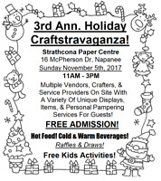 3rd Annual Holiday Craftstravaganza!!