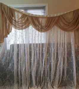 Vintage lace curtains with valances Gatineau Ottawa / Gatineau Area image 2