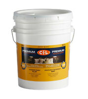 CIL Premium Paint Interior Flat 5-Gallon Bucket – Off-White
