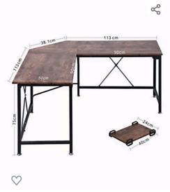 Corner desk - brand new in box
