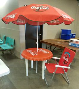 Coca-Cola Patio set