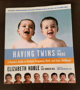 Having Twins and more book
