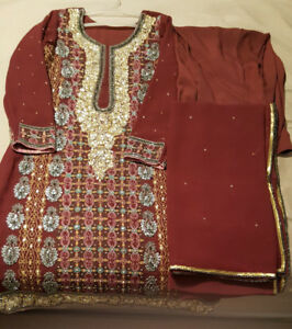 SELLING ASAP- Super Fancy Wedding Shalwar Suit- BRAND NEW