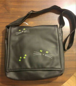 Unused Black Cat Bag, Child's Messenger, Wmn Shoulder Bag