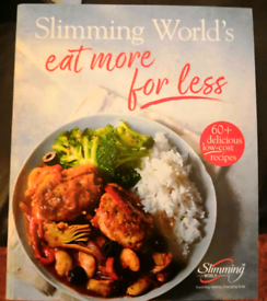 SLIMMING WORLD book Eat more for less (£)