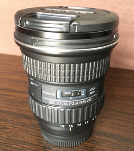 Tokina PRO DX-II 11-16mm f/2.8 Lens for Nikon