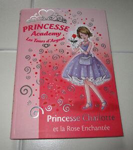 French Chapter book Princesse Academy - Les Tours d'Argent