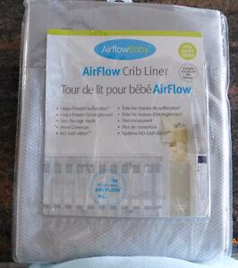 Air Flow Crib Liner
