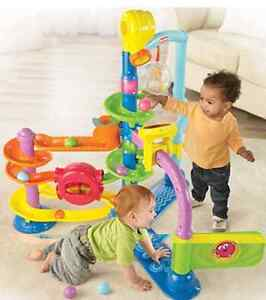 Fisher price ballapolooza and ball popping elephant