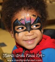 Winnipeg Pro Face Painting! 204-955-2762 Treat your guests!