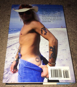 """Vince Neil """"Tattoos & Tequila"""" Hard Cover Auto Biography Book"""