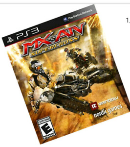 WANTED: MX vs ATV for PS3