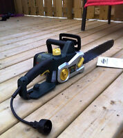 Yardworks Electric Chainsaw, 12 A, 16-in