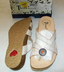 Think! Sandals new in box