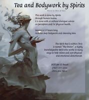 Tea and BodyWork by Spirits  (Hosted by Chris and Tania)