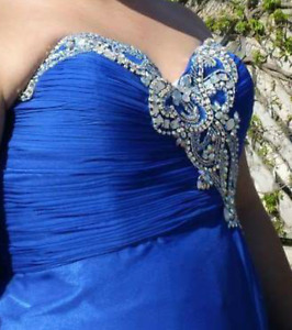 Royal Blue Gown for Sale!
