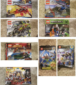 Lego - retried, unopened and opened