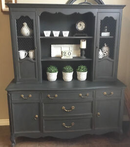 Gorgeous Chalk Painted Hutch