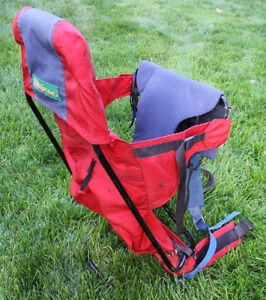 Outbound baby backpack carrier - Red and Blue Kitchener / Waterloo Kitchener Area image 1
