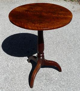 Antique Mahogany Tilt-top Tripod Table