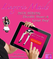 Lingerie Mids is hiring!! Great pay, Great perks! Apply now