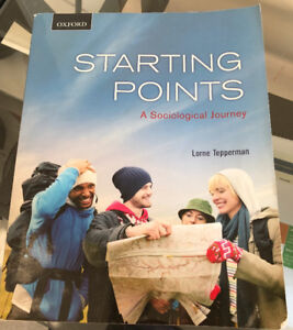 Starting Points - Lorne Tepperman (SOCIOLOGY)
