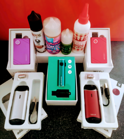 5 VAPES + EXTRAS