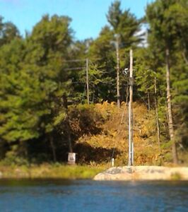 great open view & very private island lot