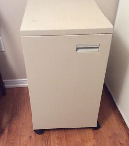 New Price steel office cabinet on casters $15.00