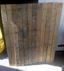 12 pallet boards 1.2 metre. Collection Thornton heath
