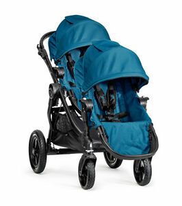 BRAND NEW Baby Jogger City Select stroller DOUBLE Teal