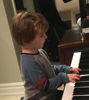 piaNo lessoNs for prescHooLerS in your hoMe!