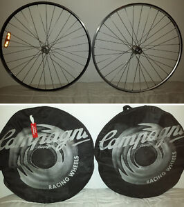 2 rims campagnolo ambrosio excellence -9 speed front-back