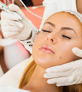 Microdermabrasion,facials, massages,waxing, (females only)
