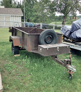 Steel Utility Trailer 4 Sale