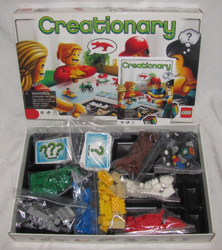 Lego Creationary Game 3844 100 Complete 40 Toys Games