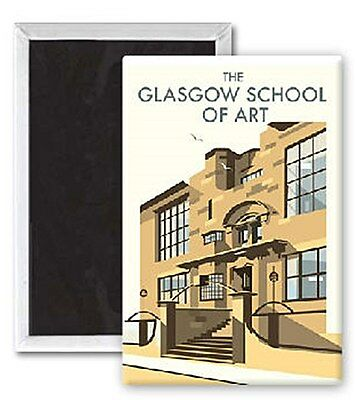 The Glasgow School Of Art by Dave Thompson fridge magnet   (se)