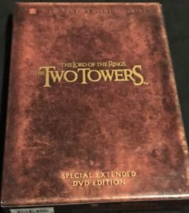Lord Of The Rings The Two Towers Special Extended Edition 4 Disc