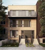 Rosemont Condo neuf 571 pi² 1 ch grand balcon - 216 000$