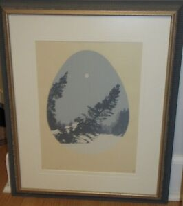 """""""Pleine Lune"""" (1978) L. St. Pierre of Quebec."""