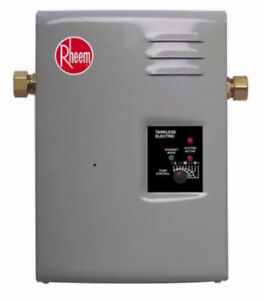 RHEEM ELECTRIC TANKLESS ON DEMAND HOT WATER RTE 13