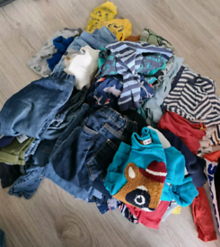 Bundle of 12-18 and 18-24month boys clothing