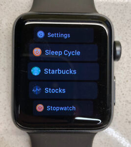 Apple Watch Series 3 Space Grey CELLULAR 42mm 3G / GPS