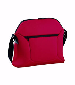 Peg Perego Borsa Soft Diaper Bag Red - Sac à Couches Rouge