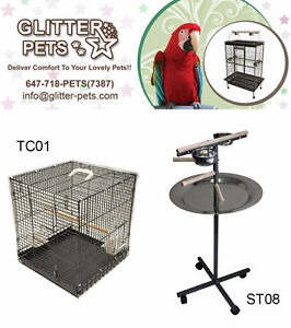 Premium Bird Cage Parrot Cage Parrot Stand Bird Toy for Sale Mississauga / Peel Region Toronto (GTA) image 6